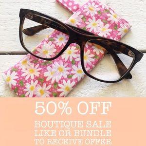 Handmade Glasses / Sunglasses Case Pouch